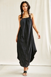 Urban Renewal Remade Crinkled Maxi Dress Black