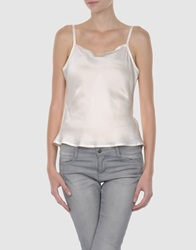 Bea Yuk Mui Bea Sleeveless T Shirts Light Pink