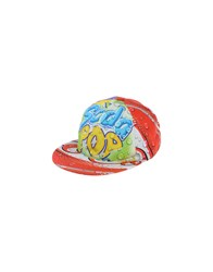 Moschino Couture Accessories Hats Men Red