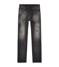 Diesel Abrais Heavy Faded Jeans Male Blue