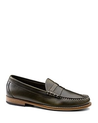 G.H. Bass And Co. Larson Beefroll Penny Loafers Green