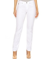 Ag Adriano Goldschmied Low Rise Skinny Jeans White Wash