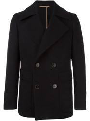 Berluti Double Breasted Jacket Black