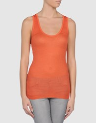 Jean Colonna Topwear Tops Women Orange