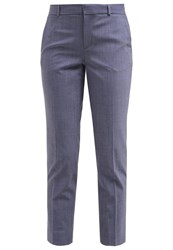 Banana Republic Avery Trousers Chambray Light Blue