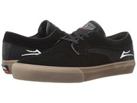 Lakai Riley Hawk Black Gum Suede Men's Skate Shoes