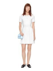 Kate Spade Pleated Skirt Sweater Dress