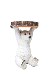 Kare Polar Bear Side Table Urban Outfitters