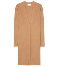 3.1 Phillip Lim Wool Blend Knitted Cardigan Brown