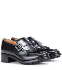 Church's Pilar Leather Loafer Pumps Black