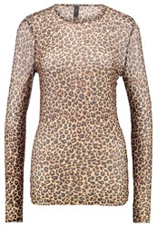 Y.A.S Yas Yasleo Long Sleeved Top Black