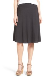 Women's Nic Zoe 'Summer Fling' Linen Blend Skirt Phantom