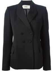 Ports 1961 Double Breasted Blazer Black