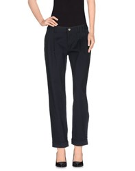 Dandg Trousers Casual Trousers Women Dark Blue