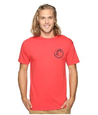 O'neill Slab Short Sleeve Screens Impression T Shirt Bright Red Men's T Shirt