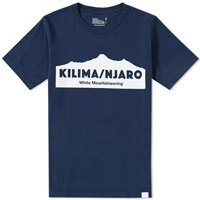 White Mountaineering Kilimanjaro Tee Blue