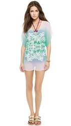 Milly Ombre Island Tunic Seafoam