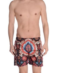 Fifteen And Half Swimming Trunks Rust