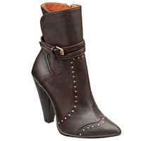 Alice By Temperley Somerset By Alice Temperley Stud Detail Oake Ankle Boots Brown Leather