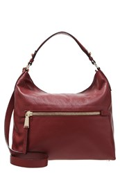 Abro Tote Bag Oxblood Dark Red