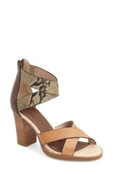 Women's Tommy Bahama 'Lavina City' Platform Sandal Wood Leather