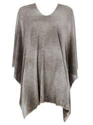 Avant Toi Bat Sleeve Top Grey