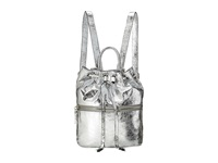 French Connection Mara Backpack Silver Backpack Bags