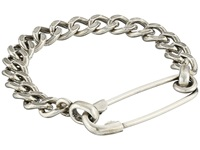 Giles And Brother Safety Pin I.D. Chain Bracelet