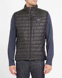 Patagonia Black Nano Puff Sleeveless Down Jacket