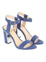 Jane Norman Two Part Block Heel Navy