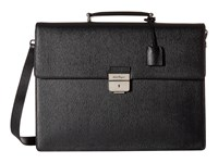 Salvatore Ferragamo Revival Briefcase 9666 Black