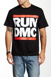 Bravado Run Dmc Logo Tee Black