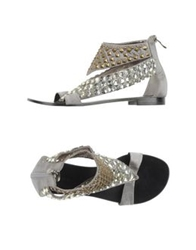 Bryan Blake Sandals Light Grey