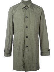 John Varvatos Single Breasted Coat Green