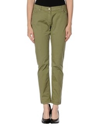 Fred Perry Casual Pants Military Green