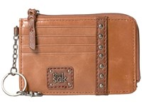 The Sak Iris Card Wallet Tobacco Stud Wallet Handbags Tan