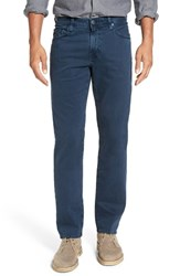 Ag Jeans Men's Big And Tall 'Graduate Sud' Slim Straight Leg Pants Sulfur Blue Ridge