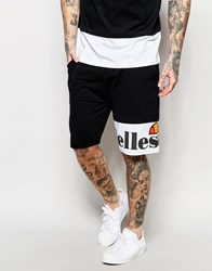 Ellesse Shorts With Contrast Logo Hem Antracite Black