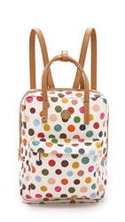 Tory Burch Kerrington Top Handle Backpack Multi Dot