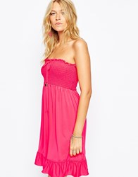 Juicy Couture Mini Beach Dress Pink