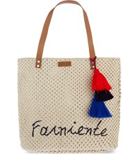 Claudie Pierlot Alaplage Cotton Shopper