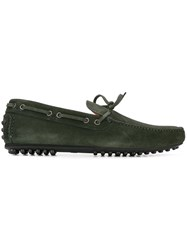 Car Shoe Classic Boat Shoes Green