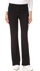 Splendid Sylvie Rib Pull On Pants Black
