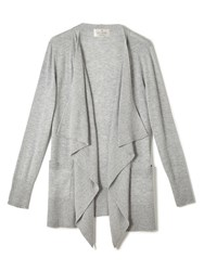 Precis Petite Jeff Banks Waterfall Cardigan Grey