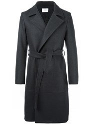 Ports 1961 Belted Mid Coat Grey