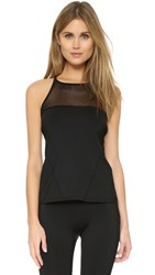 Solow Sports Mesh Block Tank Black