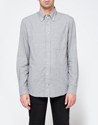 Gitman Brothers Vintage Flannel Button Down In Grey