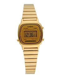 Casio Timepieces Wrist Watches Women Gold