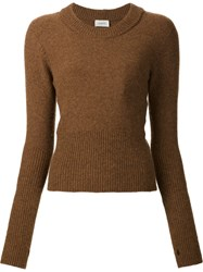 Christophe Lemaire 'Pecan' Pullover Brown