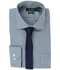 Lauren Ralph Lauren Poplin Checks Blue Cream Men's Clothing